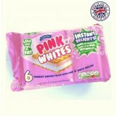 【Caxton】Pink 'N' Whites Wafers<br>ピンクホワイト ウエハース(6個入り)