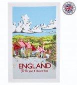 【Ulster Weavers】Kelly Hall ENGLAND Cotton Tea Towel<br>ケリーホール イングランド ティータオル