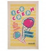 【Ulster Weavers】Seasalt Ice Cream Cotton Tea Towel<br>シーソルト アイスクリーム  コットンティータオル
