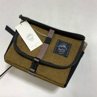 Bike'n Hike Front Bag Walnat