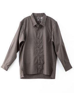 Merino Shirt Brown