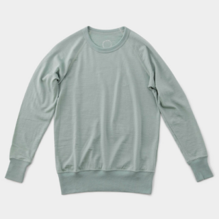 Merino Pullover Granite Green