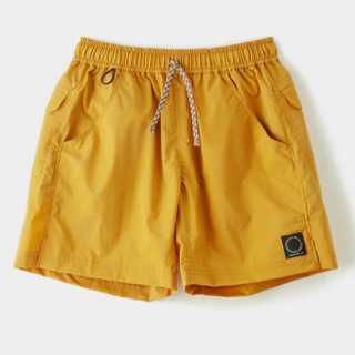 Light 5-Pocket Shorts Turmeric