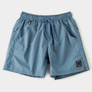 Light 5-Pocket Shorts Slate Blue