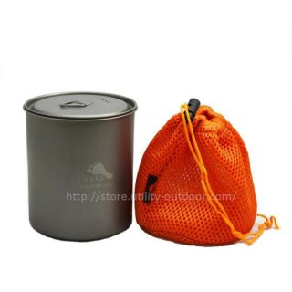 TITANIUM 750ml POT WITHOUT HANDLE