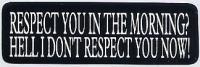 ステッカー[661-RESPECT YOU]