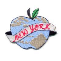 輸入ワッペン〔2188-NEW YORK〕