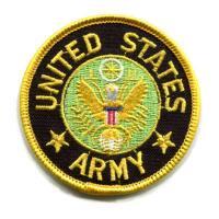 輸入ワッペン〔65-UNITED STATES-ARMY(小)〕