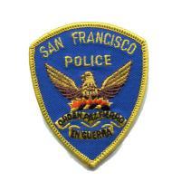 輸入ワッペン〔455-San Francisco Police〕