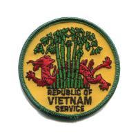 輸入ワッペン〔508-Rep. Of Vietnam Service〕