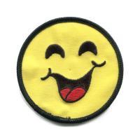 輸入ワッペン〔1610-face-smile〕