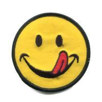 輸入ワッペン〔1611-face-tongue〕