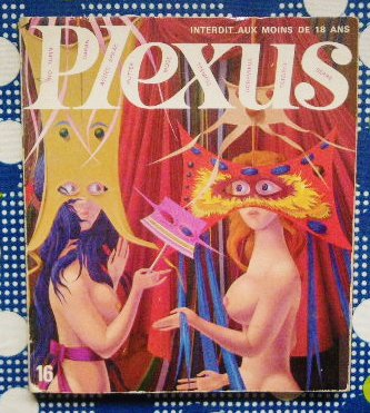 1968年 「Plexus」エロティシズム&カートゥーン<br>Wolgang Hutter/タイガー立石