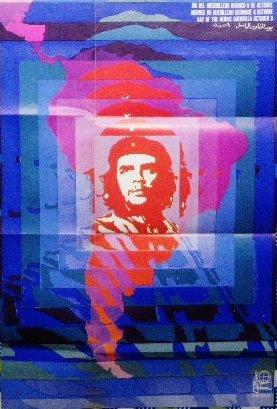 1968年 チェ・ゲバラ 政治ポスター<br>OSPAAAL キューバ・デザイン