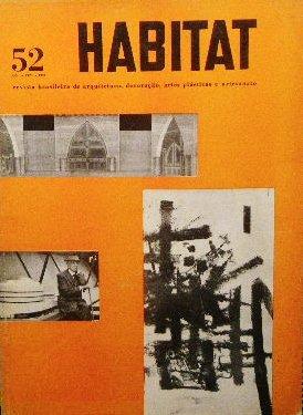 1959年 ブラジル建築誌「Habitat」<br>リナ・ボ・バルディ
