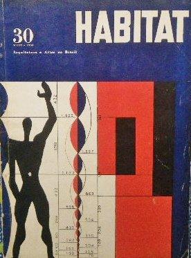 1956年ブラジル建築誌「Habitat」<br>ル・コルビュジエ モデュロール
