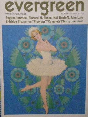 「Evergreen Review」1968年<br>ウジェーヌ・イヨネスコ/Ann Weisman/ビートニク
