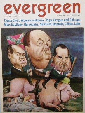 「Evergreen Review」1968年<br>ウィリアム・バロウズ/タニア ゲバラ/バーバレラ