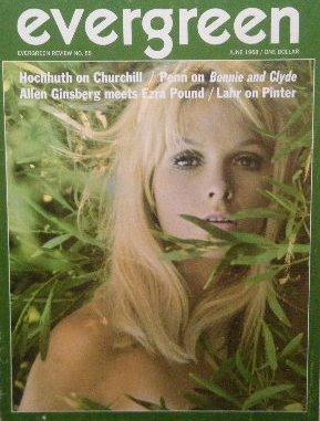 「Evergreen Review」1968年<br>エズラ・パウンド × アレン・ギンズバーグ