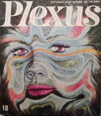 1968年 「Plexus」シュルレアリスム&サイケデリック表紙