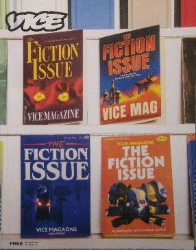 vice magazine The Fiction Issue