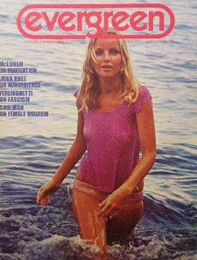「Evergreen Review」1971年<br>マーシャル・マクルーハン/Lawrence Ferlinghetti