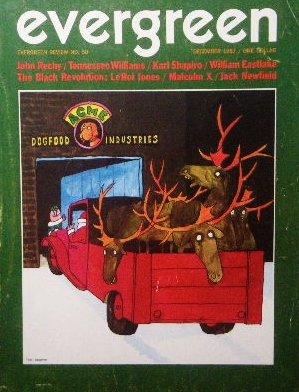 「Evergreen Review」1971年<br>トミー・ウンゲラー/ペギー・モフィット/マルコムX