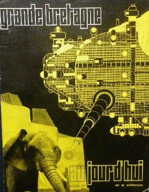 アーキグラム 表紙 「aujourd'hui」 Archigram ピーター・クック