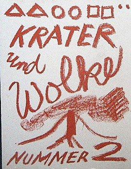 オリジナルプリント5点付■A.R. Penck 「Krater und Wolke」Jorg Immendorff/Georg Baselitz