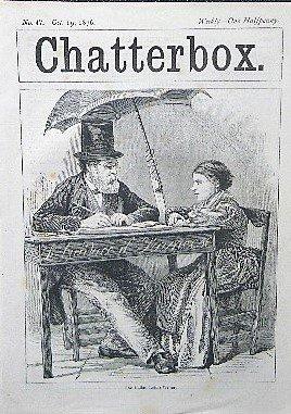 1876年 ヴィクトリア朝 「Chatterbox」 �