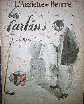 1904年 フランス風刺画 「L'Assiette au Beurre」Ricardo Flores
