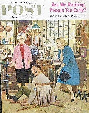 1959年 「The Saturday Evening Post」 John Falter