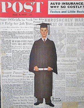 1959年 「The Saturday Evening Post」 ノーマン・ロックウェル 表紙