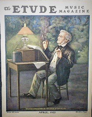 1925年 「The Etude」 リヒャルト・ワーグナー/H. Kroening