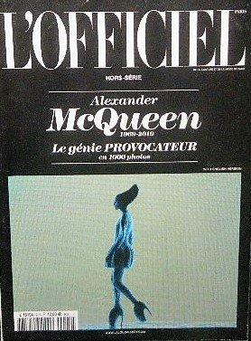 アレキサンダー・マックイーン  Alexander McQueen 1969-2010 Le genie PROVOCATEUR「L'OFFICIEL」