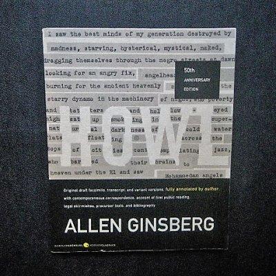 アレン・ギンズバーグ 「吠える」50周年記念 Allen Ginsberg 「Howl」
