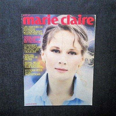 1982年 「marie claire」ドミニク・サンダ/ピーター・リンドバーグ