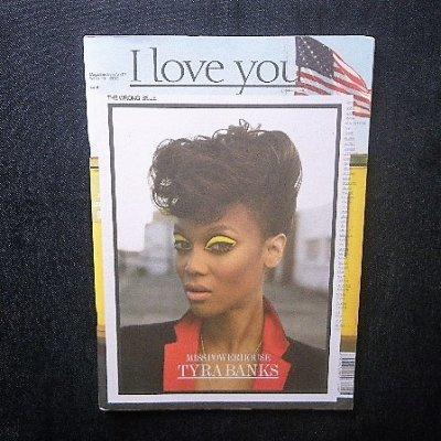 ドイツ ベルリン 「I LOVE YOU」 タイラ・バンクス