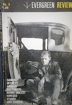 「evergreen review」創刊3号 ジャクソン・ポロック/サミュエル・ベケット