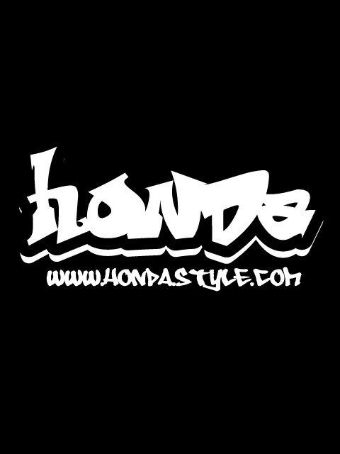 HONDA ホンダ グラフィティ ステッカー