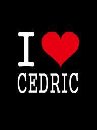 I LOVE CEDRIC ステッカー