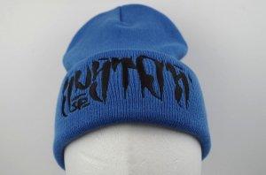 SUSTOS 'PUSHU' knit CAP【BLU】