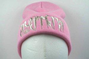SUSTOS 'PUSHU' knit CAP【PNK】