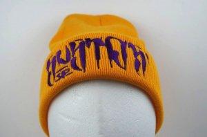 SUSTOS 'PUSHU' knit CAP【YEL】