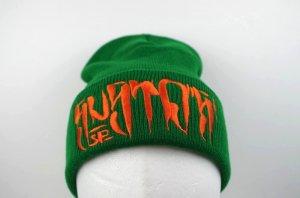SUSTOS 'PUSHU' knit CAP【GRN】