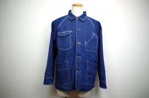 OVERPREAD denim COVERALL