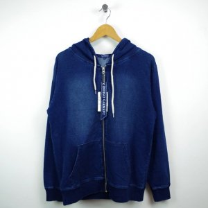 SELECT cut denim ZIP PARKA