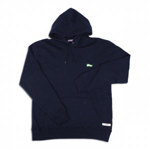 <img class='new_mark_img1' src='//img.shop-pro.jp/img/new/icons14.gif' style='border:none;display:inline;margin:0px;padding:0px;width:auto;' />OVERPREAD flaglogo HOODIE【NAVY】