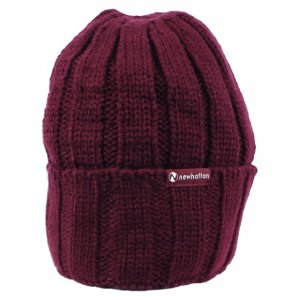 <img class='new_mark_img1' src='//img.shop-pro.jp/img/new/icons14.gif' style='border:none;display:inline;margin:0px;padding:0px;width:auto;' />NEWHATTAN knit CAP【BUR】