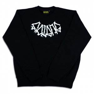 SUSTOS titi C.SWEAT【BLK】